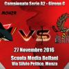 Sharks Monza A2 vs Rangers Bologna
