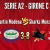 Sen Martin Modena vs Sharks Monza A2 3-8