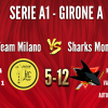 Dream Team Milano vs SHARKS MONZA A1 5-12