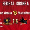 Warriors Viadana vs SHARKS MONZA A1 7-6