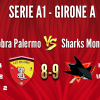 Red Cobra Palermo vs SHARKS MONZA A1 8-9