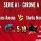 Dolphins Ancona vs SHARKS MONZA A1 5-10